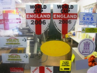 Water Resistant Window Stickers For Identification Information