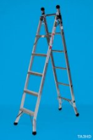 Stainless Steel 3 Way Domestic Ladder For Commercial Industries