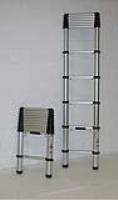 Stainless Steel Telescopic Ladders For Commercial Industries