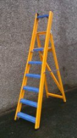 Stainless Steel Glass Fibre Stepladders For Commercial Industries