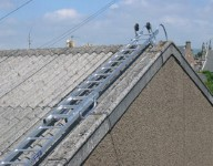 Stainless Steel Roof Ladders For Commercial Industries