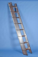Stainless Steel D - Rung Ladders For Commercial Industries