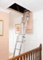 Stainless Steel Domestic Loft Ladders For Commercial Industries