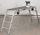 Stainless Steel Folding Work Platform For Commercial Industries