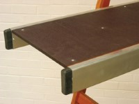 Stainless Steel Staging Planks For Commercial Industries