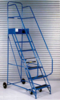 Stainless Steel Mobile Steel Platform Steps For Commercial Industries