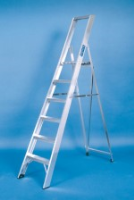 Stainless Steel Folding Platform Steps For Commercial Industries