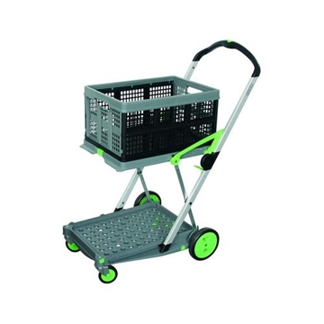 Clax Lab Folding Trolley Cart and Folding Box 0040002