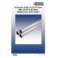 Benson Heating Stainless Steel Flue ? Variente Heaters (VRA) & UESA & UDSA-B