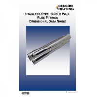 Benson Heating Stainless Steel Flue ? Cabinet, OUH & General