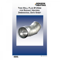 Benson Heating Stainless Steel Twin Wall Flue ? Radiant (Vision)