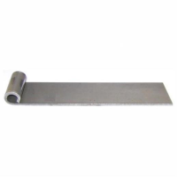 """169 Straight Hinge; No Holes To Weld; 150mm x 40mm x 8 mm (L x W x T); To Suit 1/2"""" Pin"""