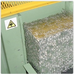Metal Baling Presses For Tin Cans