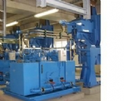 Synthetic Rubber Baling Presses With Weighscales