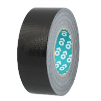 Advance Tapes AT180 Black Gloss Cloth Tape