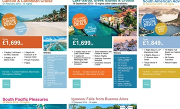 B2B Cruises, Flights & Deals Packages