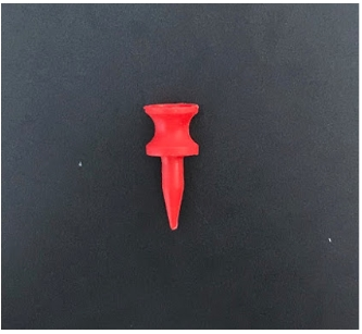 32MM Castle Golf Tee (Red)