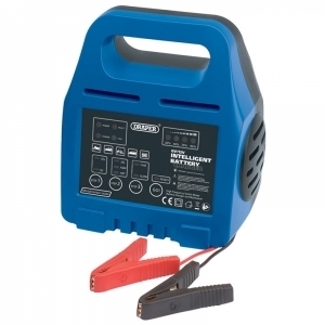 DRAPER 6/12V Intelligent Battery Charger