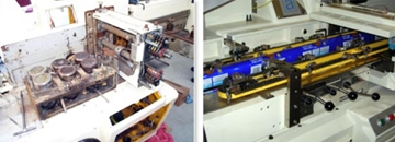 3 Axis Electronic Flow Wrapping Machine