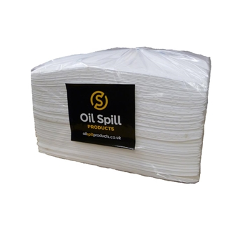 Oil Absorbent Pads Heavyweight Dimpled