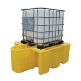 1100 litre IBC Spill Pallet Bund with Dispensing Area