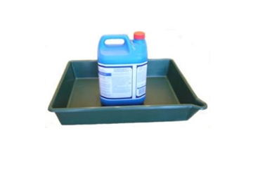 16 Litre Oil Or Chemical Spill Tray With Spout