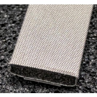 410-0095-0025SFG Fabric Over Foam Soft EMI Shielding Gasket Rectangle Shape 9.5mm x 2.5mm (WxH)
