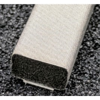 410-0110-0070SFG Fabric Over Foam Soft EMI Shielding Gasket Rectangle Shape 11.0mm x 7.0mm (WxH)