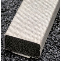 410-0100-0060SFG Fabric Over Foam Soft EMI Shielding Gasket Rectangle Shape 10.0mm x 6.0mm (WxH)