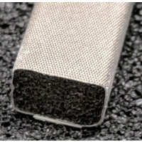 410-0095-0064SFG Fabric Over Foam Soft EMI Shielding Gasket Rectangle Shape 9.5mm x 6.4mm (WxH)