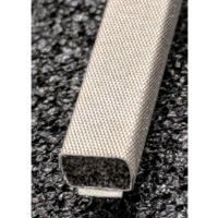 410-0048-0033SFG Fabric Over Foam Soft EMI Shielding Gasket Rectangle Shape 4.8mm x 3.3mm (WxH)