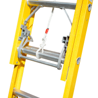 Fibreglass Professional Extension Ladders
