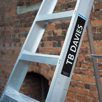 Industrial Professional Swingback Step Ladders