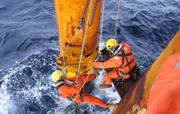 Rope Access Technique Diving Support Services