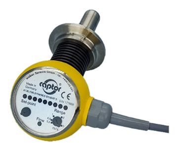 Flow-captor 4120.1x tri-clamp® Food Industry Water-Based Solutions Flow-Switch