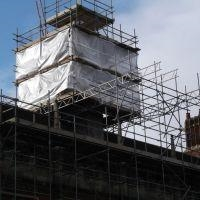 SUSPENDED SCAFFOLDING