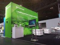 Exhibition Stands With Side Graphics