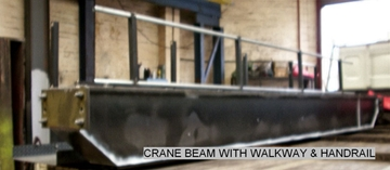 Crane Beams Manufacturers In Dudley