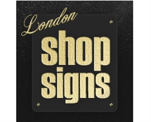 London Shop Signs