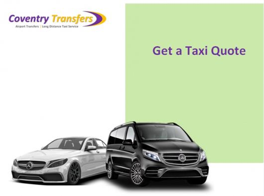 TAXI TRANSFERS FROM COVENTRY