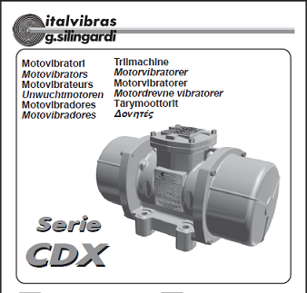 Electric Rotary Vibrator (Type CDX)
