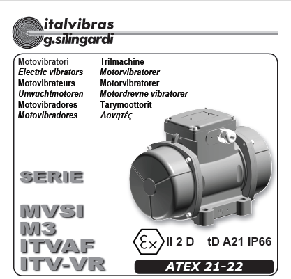 Electric Rotary Vibrator (Type MVSI M3)