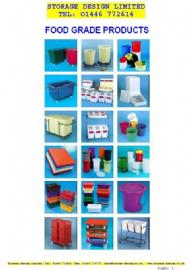 Food Grade Containers - FULL Catalogue