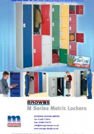 Moresecure Shelving - M Series metric Lockers