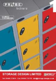 Probe Lockers & Shelving - Probe Lockers