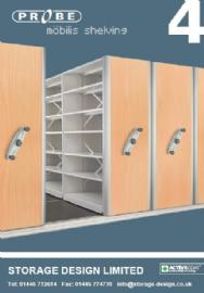 Probe Lockers & Shelving - Mobile Shelving
