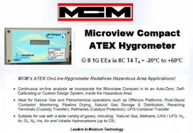 Microview Compact ATEX Hygrometer