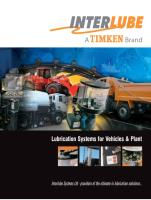 Lubrication system brochure 2010 for Vehicles and Plant