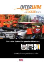 Agricultural Lubrication systems brochure
