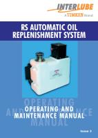 RS Operational Manual